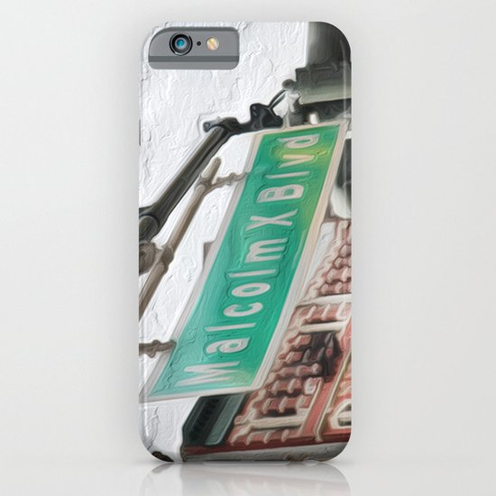 Malcom X Blvd iPhone & iPod Case