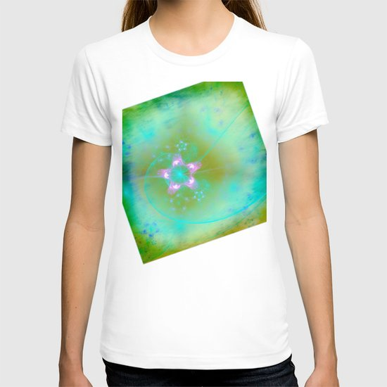 Magical Flowers Glow From Within T-shirt
