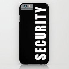SECURITY TEE SHIRT iPhone 6 Slim Case