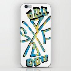 stay friendly iPhone & iPod Skin