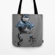 Possibly a Tricky Warrior Dwarf Demon Tote Bag
