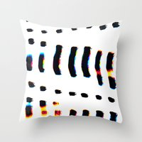 Digital Jacques Throw Pillow