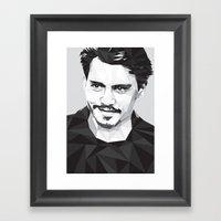 Here's Johnny... Framed Art Print