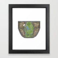 UNDERWEAR LOVE: NY UNDIE… Framed Art Print
