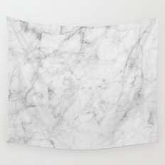 Carrara Marble Wall Tapestry