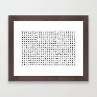 Icons are Beautiful Framed Art Print