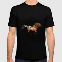 HORSE - An Appaloosa Cal… Mens Fitted Tee Black SMALL