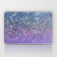Sparkley Grunge Relief Background G181 Laptop & iPad Skin