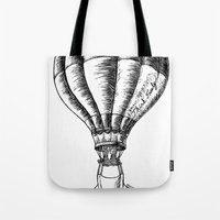 Think Freely In Contrast Tote Bag