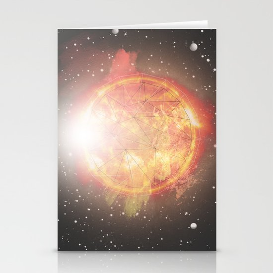 Sun Stationery Card