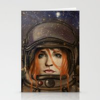 Give me Space (Girl) Stationery Cards