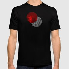 Spots Mens Fitted Tee Black SMALL