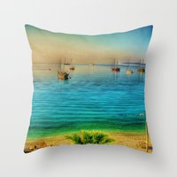 Bodrum Throw Pillow