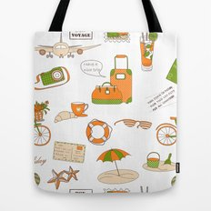 Summer Travel Tote Bag