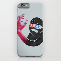 iPhone Cases featuring Now in Eye-Popping 3D! by Michael Mossner