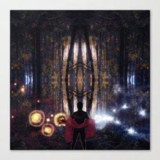 Secret Splendor of Night Canvas Print