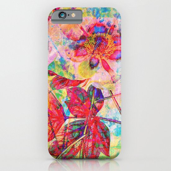 abstract anemone iPhone & iPod Case