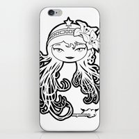 Lybee Black & White iPhone & iPod Skin