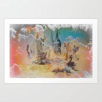 The Oz, By Sherri Of Pal… Art Print