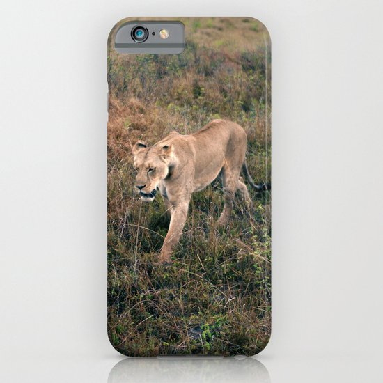 Lone Lion. iPhone & iPod Case