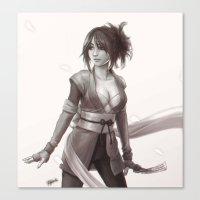 Sheena - Tales Of Sympho… Canvas Print
