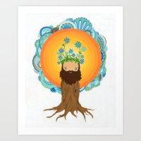 Tree Creature.  Art Print