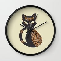 The Egyptian Cat Wall Clock