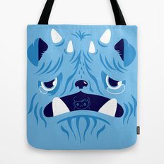 The Bluest Monster Ever :(( Tote Bag