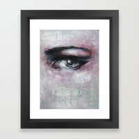 Quiet-Colored End Of Eve… Framed Art Print