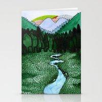 Landscapes / Nr. 2 Stationery Cards