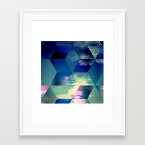 Distraction Framed Art Print