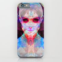 iPhone & iPod Case featuring machina ex femina by Daily Rorschach