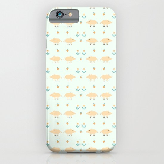 Funny pigs iPhone & iPod Case