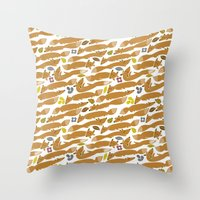 Rubah Throw Pillow