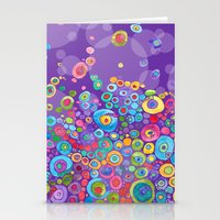 Inner Purple Stationery Cards