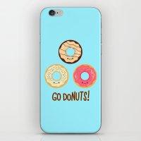 Go doNUTS! iPhone & iPod Skin
