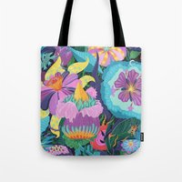 The Double Bee Tote Bag