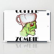 coffee zombie iPad Case
