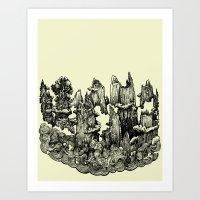 Landscape 08 Art Print