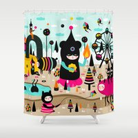 A joyful time! Shower Curtain