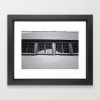 Reflected Rainier Framed Art Print
