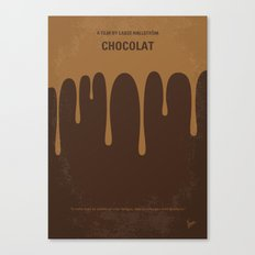 No567 My Chocolat minimal movie poster Canvas Print