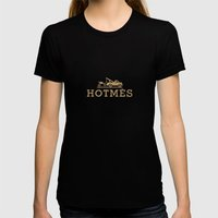 Hotmes Womens Fitted Tee Black SMALL