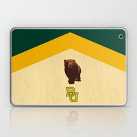 Baylor University - BU logo with bear Laptop & iPad Skin