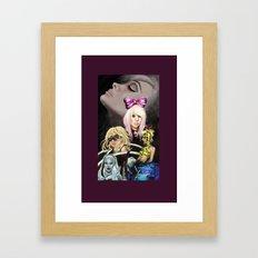 Mother Monster Purple border  Framed Art Print