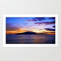 Maui Summer Art Print