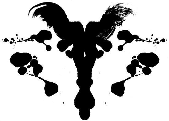 Rorschach Test Canvas Print