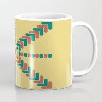X Marks the Center Mug