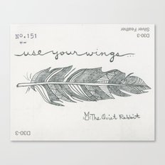 no.151 - use your wings Canvas Print