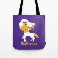 Sagittarius: the Archer Tote Bag